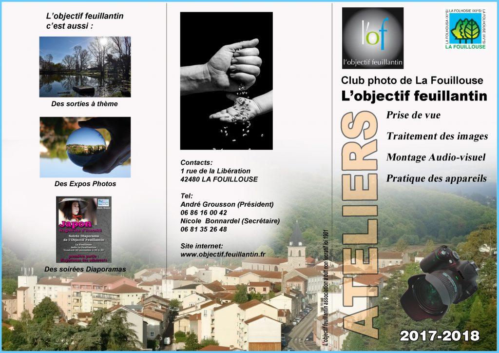 Plaquette recto Objectif Feuillantin 2017-3 avec cadre