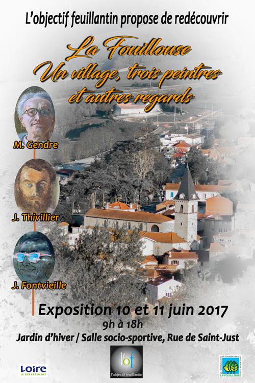 Flyer un village 3 peintres site LOF R